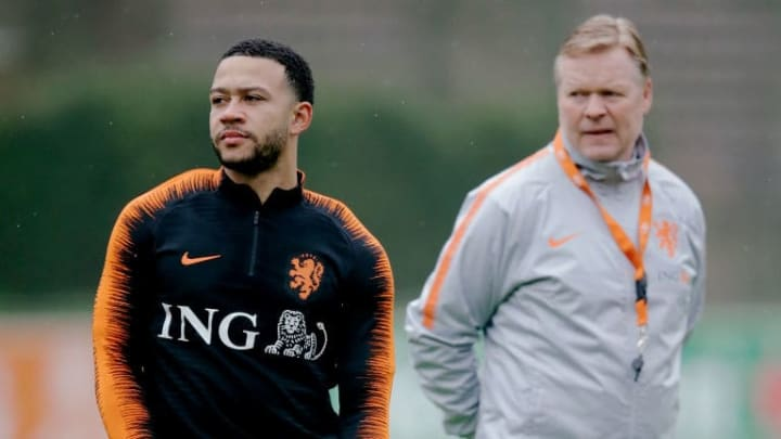 Koeman knows Depay very well from his time with the national side