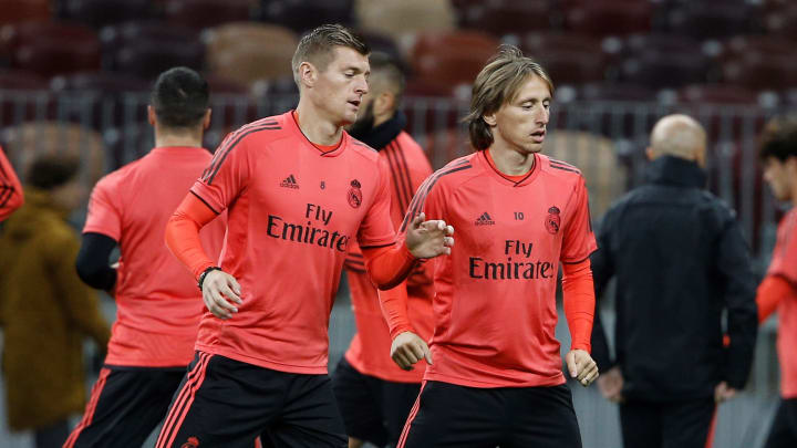 Kroos y Modric, la pareja de lanzadores del Madrid
