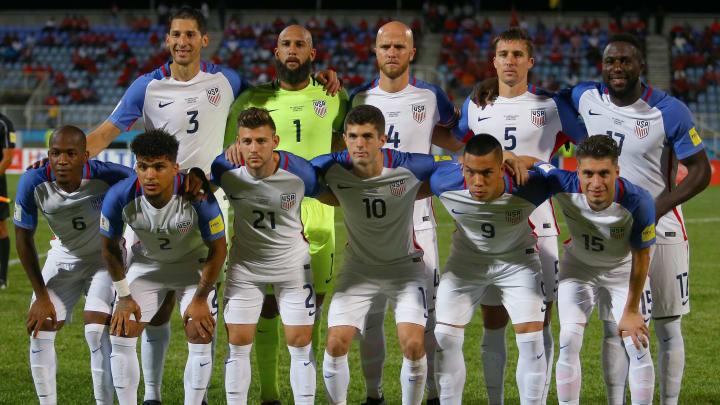 FIFA 2018 World Cup Qualifier against Trinidad & Tobago