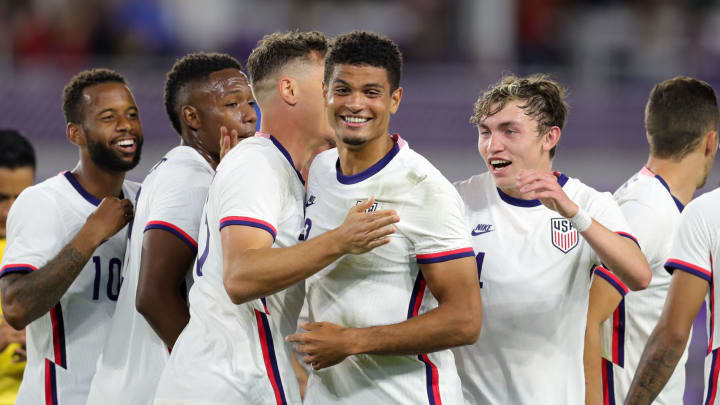 The USMNT won 7-0 last time out