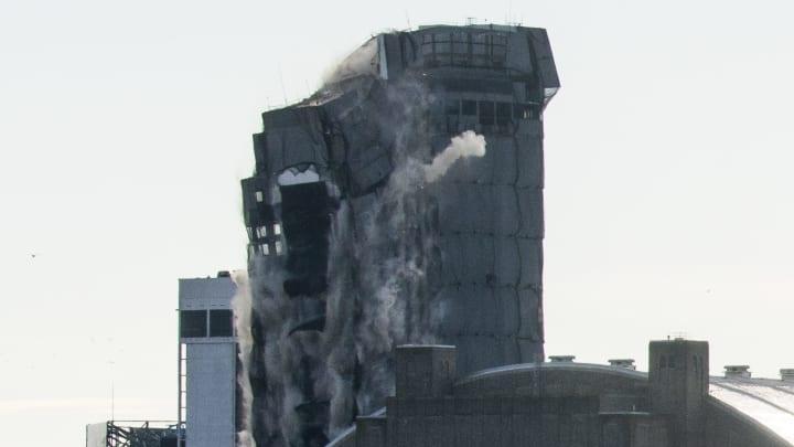 Trump Plaza In Atlantic City Imploded