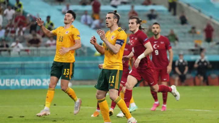 Gareth Bale nach seinem vergebenen Elfmeter