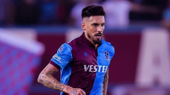 Verließ Trabzonspor Ende August: Jose Sosa