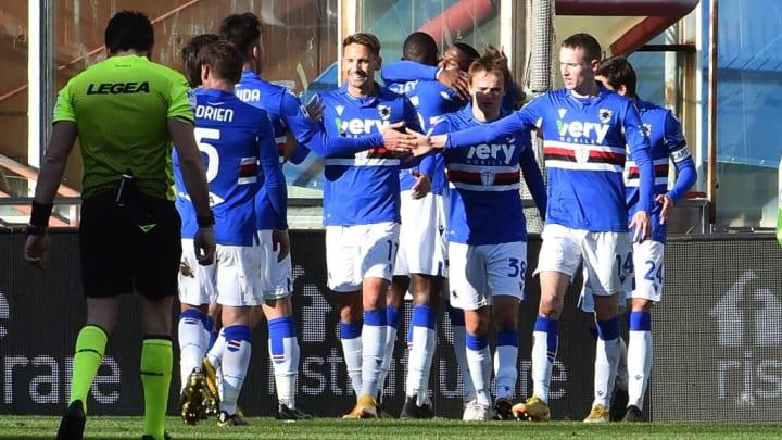 UC Sampdoria and ACF Fiorentina - Serie A