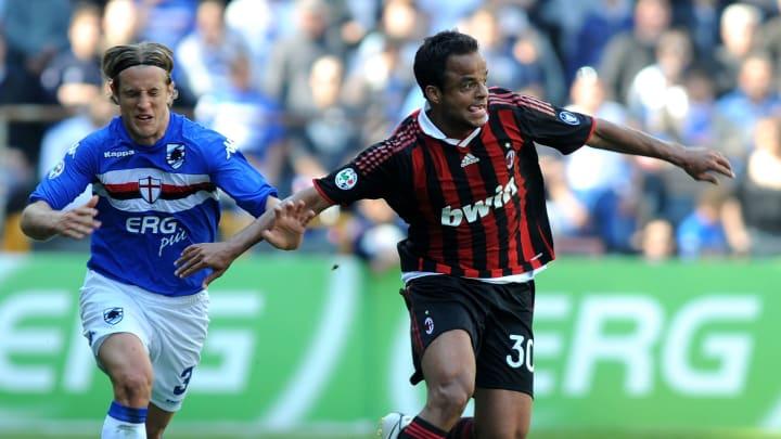 Reto Ziegler, Amantino Mancini Milan Inter de Milão
