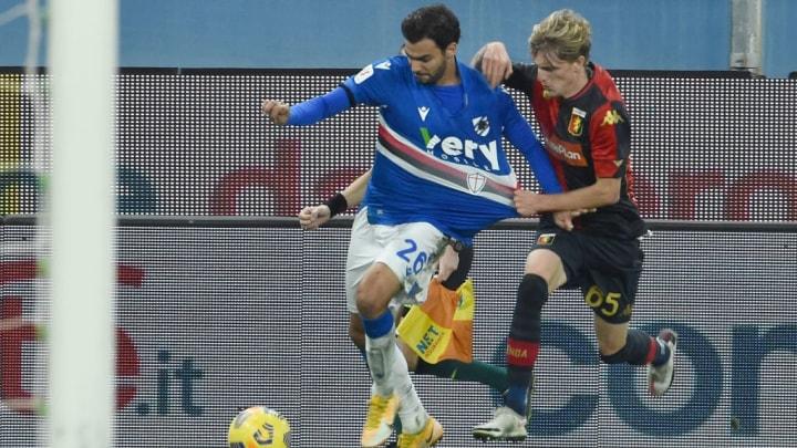 UC Sampdoria v Genoa CFC - Coppa Italia