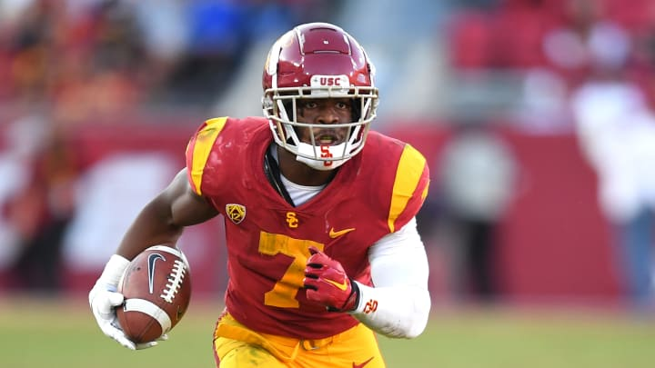 USC football running back Stephen Carr.