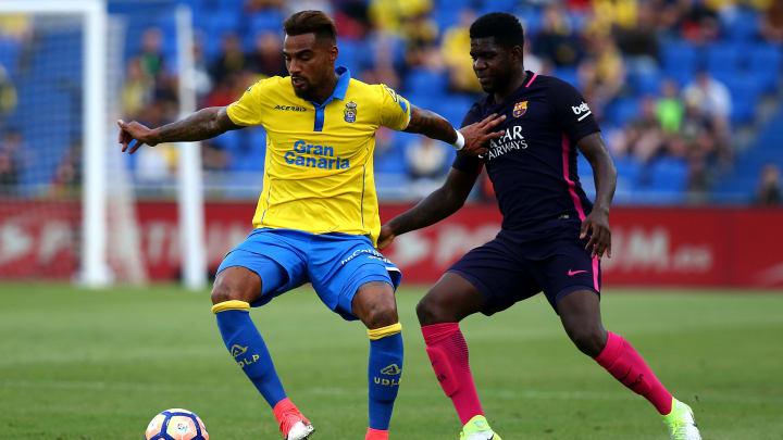 In der Saison 2016/17 spielte Boateng schon einmal bei der UD Las Palmas - damals noch in der Primera División