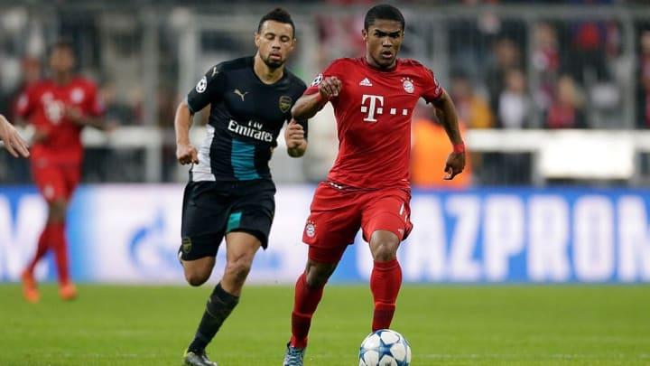 In seinem ersten Halbjahr beim FC Bayern schlug Douglas Costa ein wie eine Bombe - danach verlor er den Anschluss