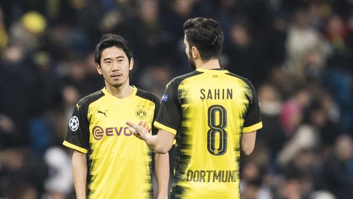 Wurden mit Borussia Dortmund deutscher Meister: Shinji Kagawa und Nuri Sahin