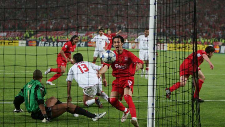 El Liverpool remontó la famosa final de Estambul ante el Milan