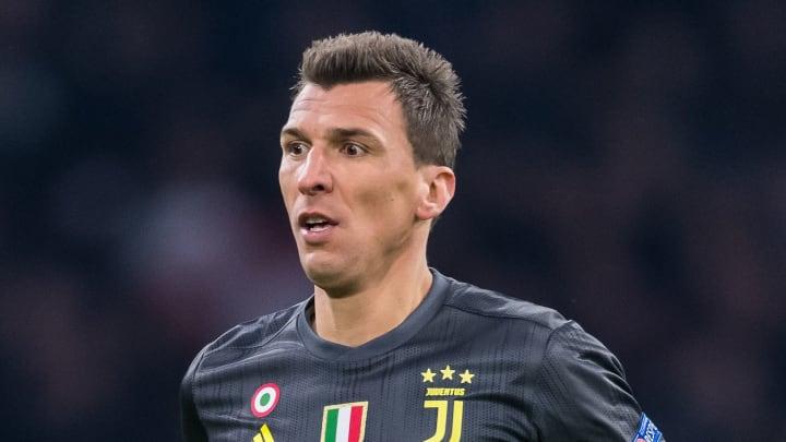 Mario Mandzukic has arrived at Milan