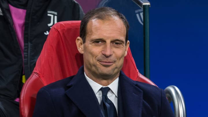 Max Allegri could replace Andrea Pirlo this summer