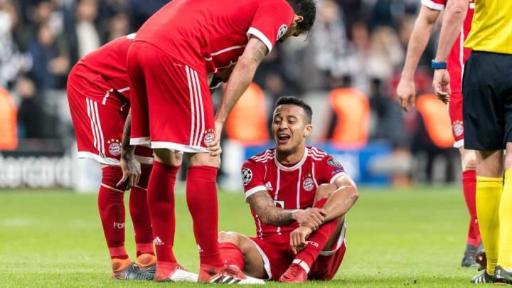 """Liga de Campeones""""Besiktas contra el Bayern de Múnich"""""""