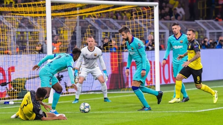 "UEFA Champions League""Borussia Dortmund v FC Barcelona"""