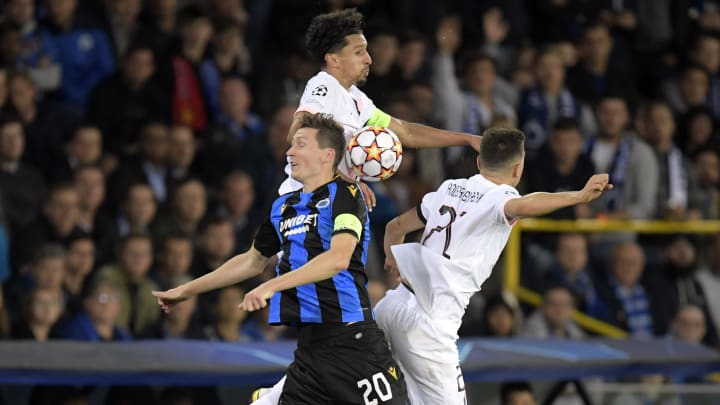 PSG had to settle for a draw against Club Brugge