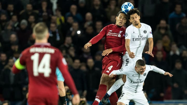 "Marquinhos e Van Dijk estão na lista   UEFA Champions League""Paris St Germain v Liverpool FC"""