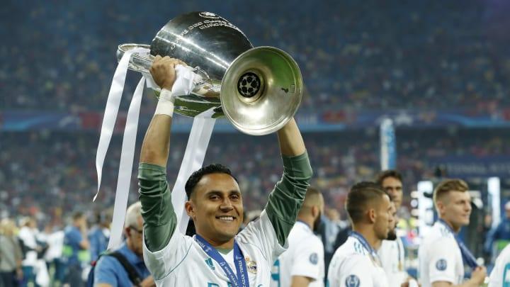 El arquero tico Keylor Navas fue tricampeón de la UEFA Champions League con el Real Madrid.