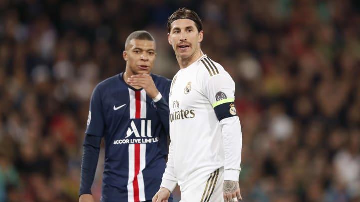 In der nächsten Saison wohl vereint: Sergio Ramos (r.) und Kylian Mbappé