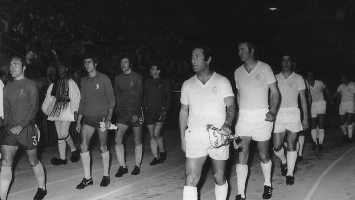 Francisco Gento, Ron Harris, Peter Osgood, Peter Houseman, Peter Bonetti