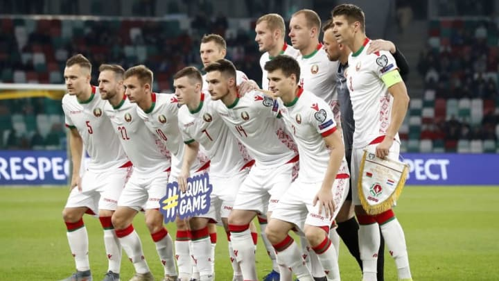 """UEFA EURO 2020 qualifier group C""""Belarus v The Netherlands"""""""