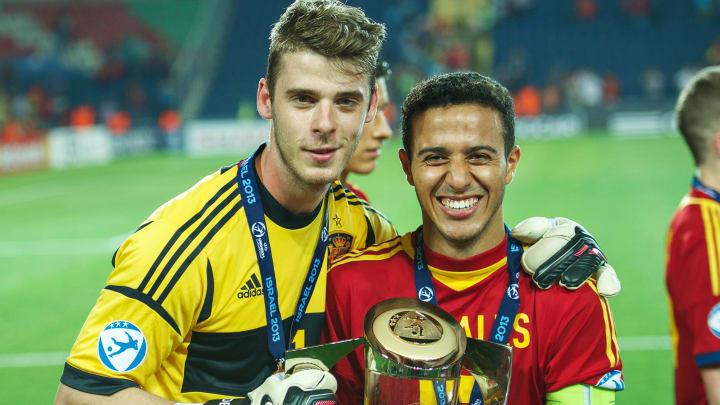 De Gea e Thiago conquistaram a Euro Sub-21
