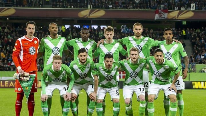 Schurrle lining up for Wolfsburg alongside Kevin De Bruyne