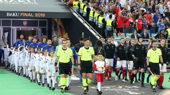 "UEFA Europa League""Chelsea FC v Arsenal FC"""