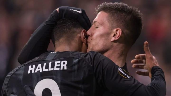 "UEFA Europa League""Eintracht Frankfurt v Olympique de Marseille"""