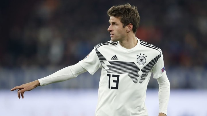 Der letzte Nationalelf-Einsatz Müllers war im November 2018