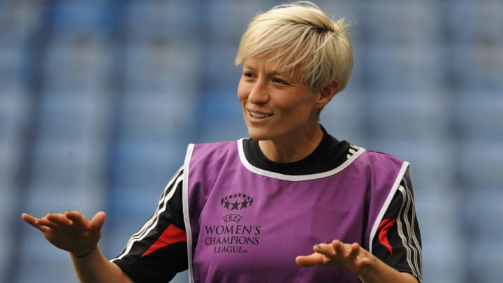 Megan Rapinoe is one of nine US nationals to have played in the Champions League final