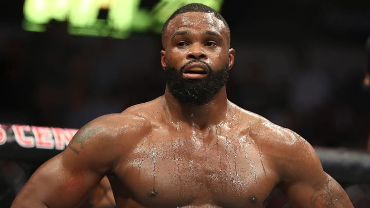 Woodley vs Burns odds have Tyron Woodley as the favorite in the UFC May 30 main event.