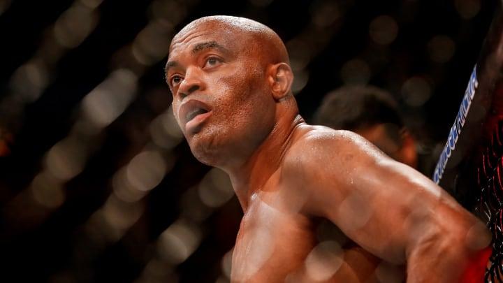 Anderson Silva at UFC 237.
