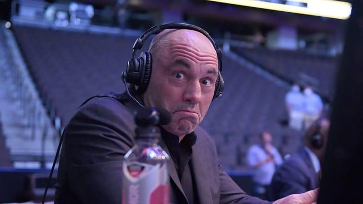 Joe Rogan working a UFC event.