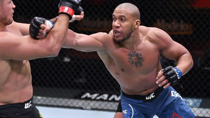 Ciryl Gane vs Jairzinho Rozenstruik prediction and pick for this week's UFC Vegas 20 main event.