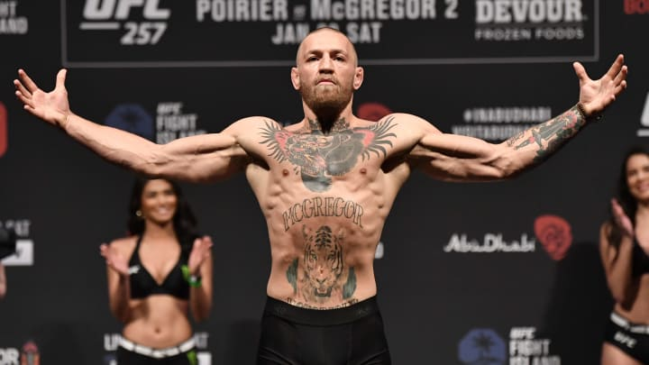 Conor McGregor, UFC 257 Poirier v McGregor: Weigh-Ins