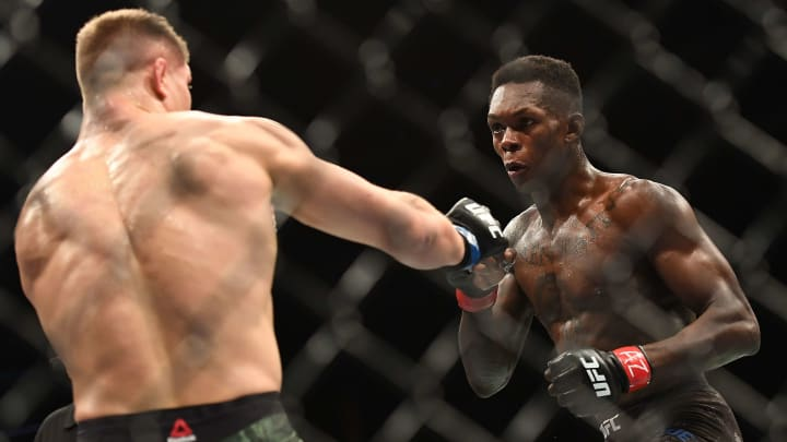 Israel Adesanya and Marvin Vettori are set to throw down in the main event of this weekend's UFC 263.