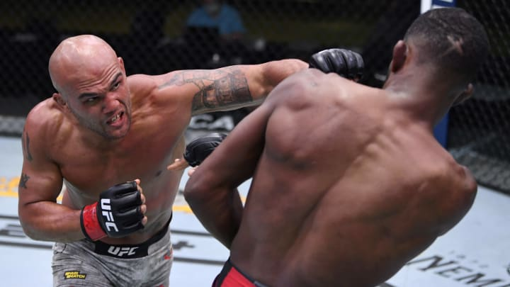 Nick Diaz vs Robbie Lawler UFC 266 welterweight bout odds, prediction, fight info, stats, stream and betting insights.