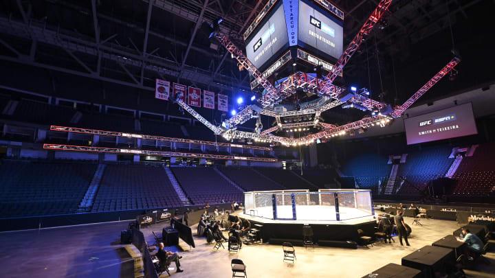 Ramiz Brahimaj is out of UFC Fight Night