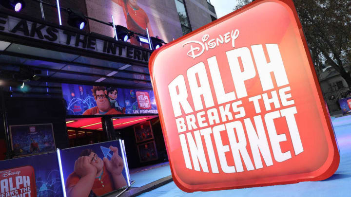 "UK Premiere Of ""Ralph Breaks The Internet"""