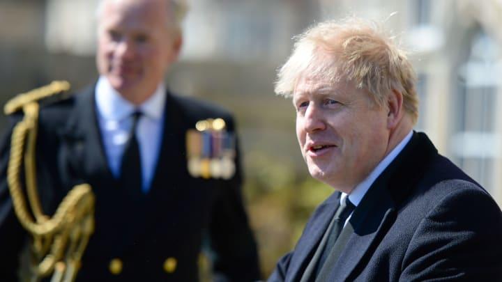 Prime Minister Boris Johnson laments European super league plans