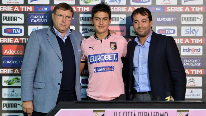 Pietro Lo Monaco, Paulo Dybala, Salvatore Castagna