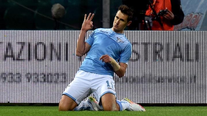 Miroslav Klose gab sich in Rom die Ehre