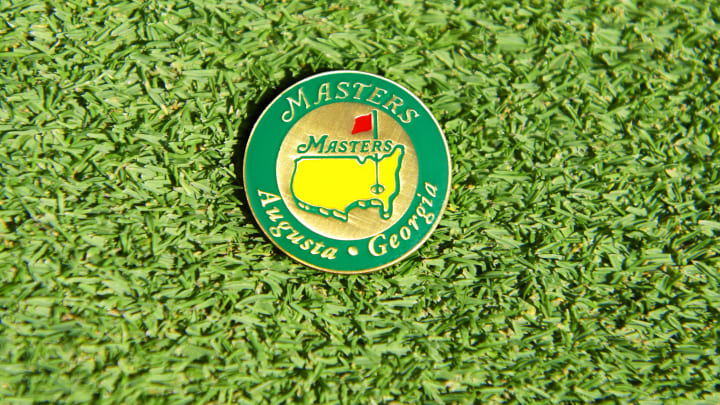 US Masters Ball Marker On Green, Portrait