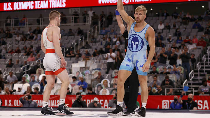 USA's Kyle Dake is the favorite in the odds to win the men's 74kg wrestling Gold Medal at the 2021 Tokyo Olympics on FanDuel Sportsbook.