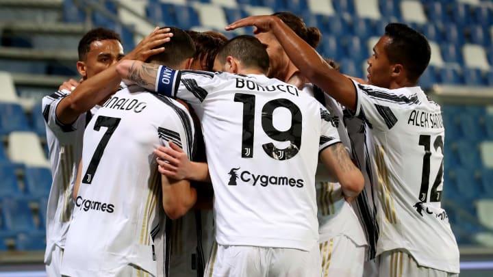 I giocatori della Juventus