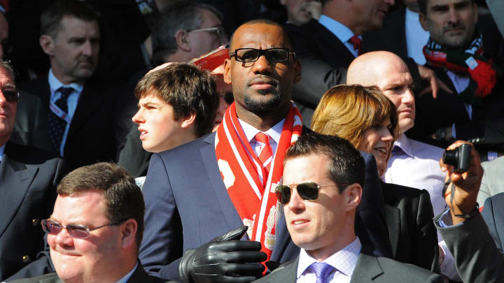 NBA star Lebron James will become part of FSG's ownership group