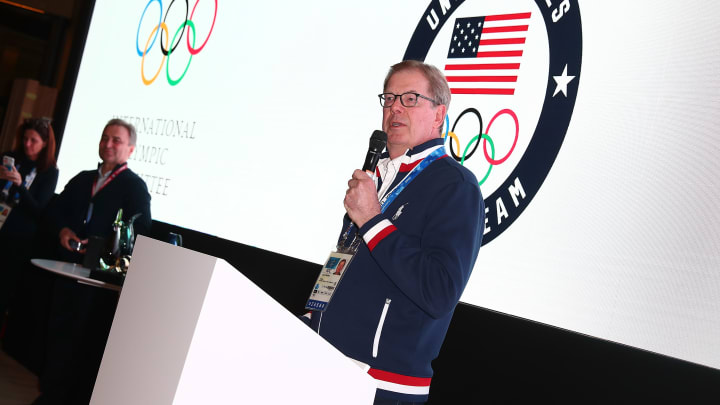 Probst also served on the International Olympic Committee.