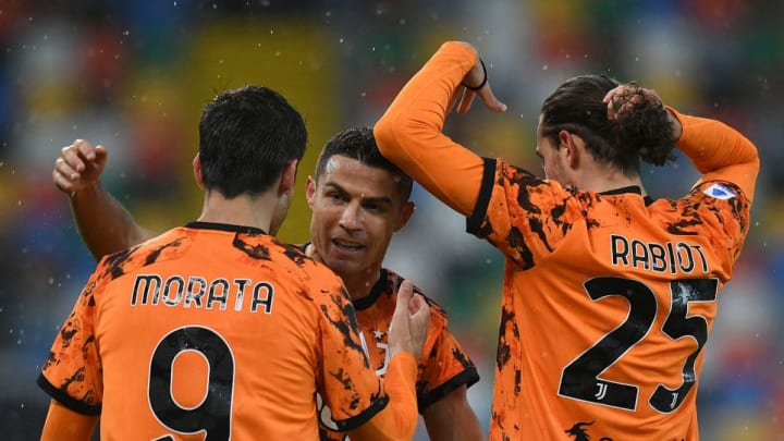 Cristiano Ronaldo, Alvaro Morata, Adrien Rabiot