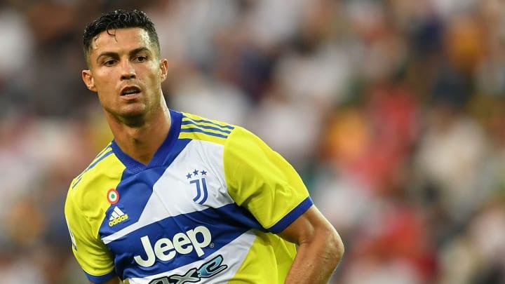 Cristiano Ronaldo sous le maillot de la Juventus.